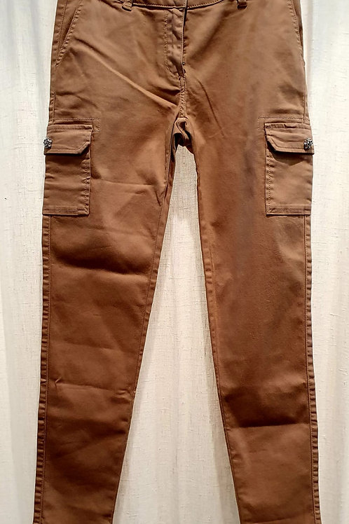 pantalon cargot camel
