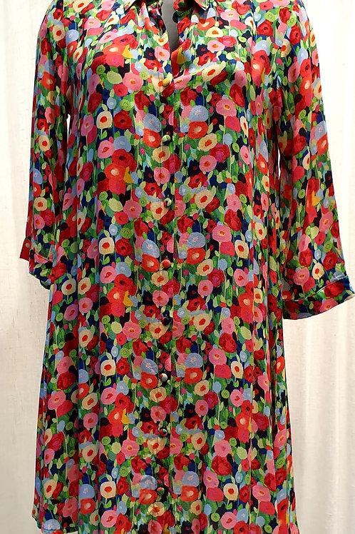 robe chemise poppies