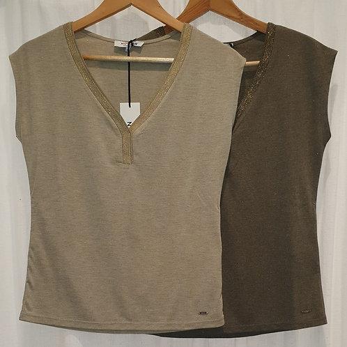 Tee shirt, colV , lurex