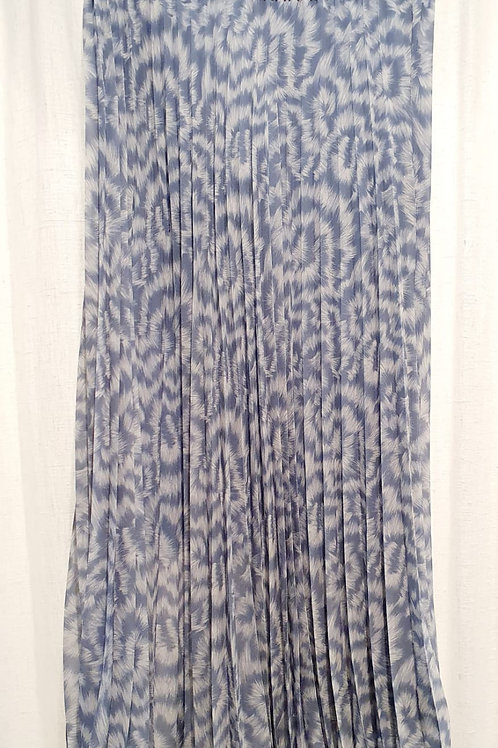 jupe plissée imprimée panthere