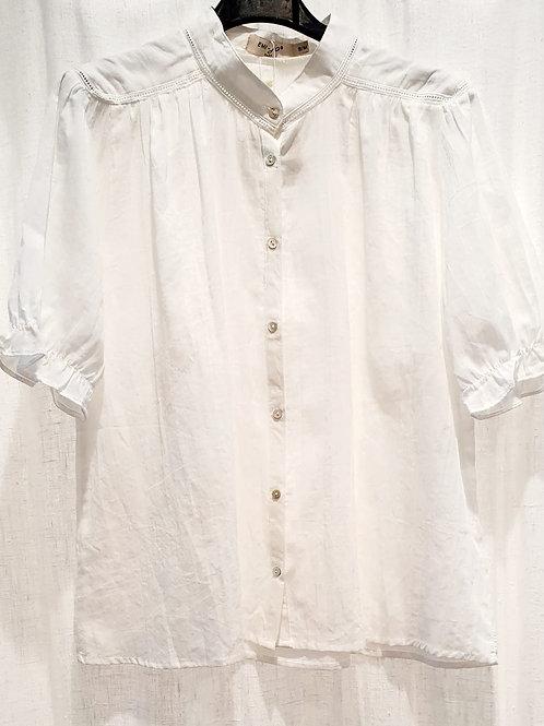 chemise coton blanche