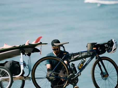 two wheels and waves x café du cycliste