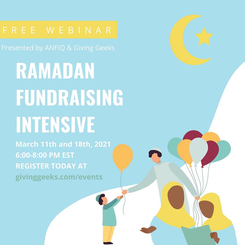 Ramadan Fundraising Intensive