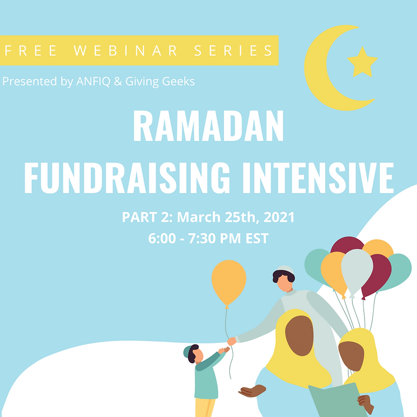 Ramadan Fundraising Intensive 2021 Day 2