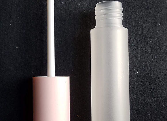 CLEARANCE! 5 ml Empty Frosted Lip Tubes with Pink Wands