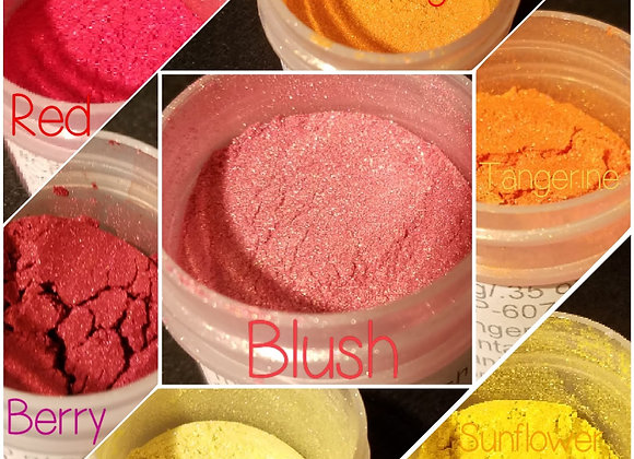 10 g Individual Powder Colors - Warm Tones - Choose Your Color