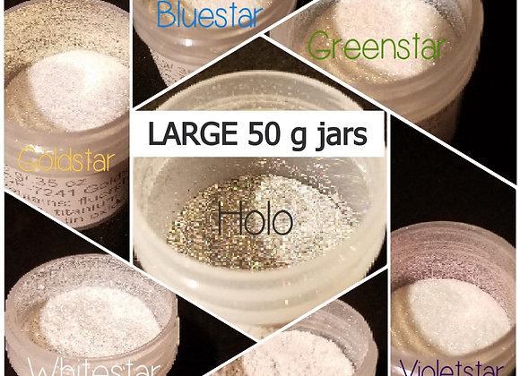 50 g Bulk Powder Colors - Sparkle Tones - Choose Your Color