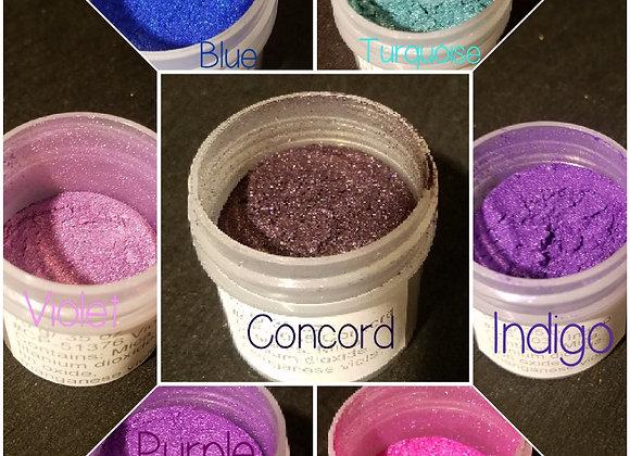 10 g Individual Powder Colors - Cool Tones - Choose Your Color
