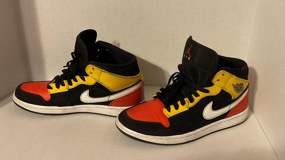 Orange & Yellow Jordans