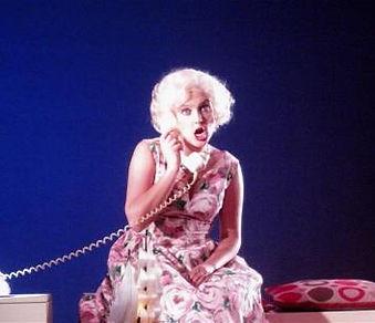Sarah McCourt on stage