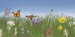 Polinators diorama