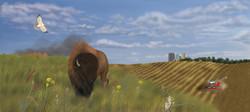 Prairie Diorama