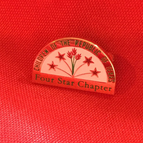 4-Star Chapter Pin