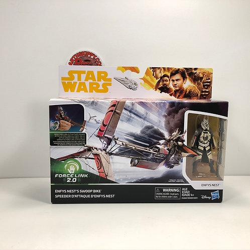 "Star Wars - Enfys Nest's Swoop Bike with Enfys Nest 3.75"" Figure"