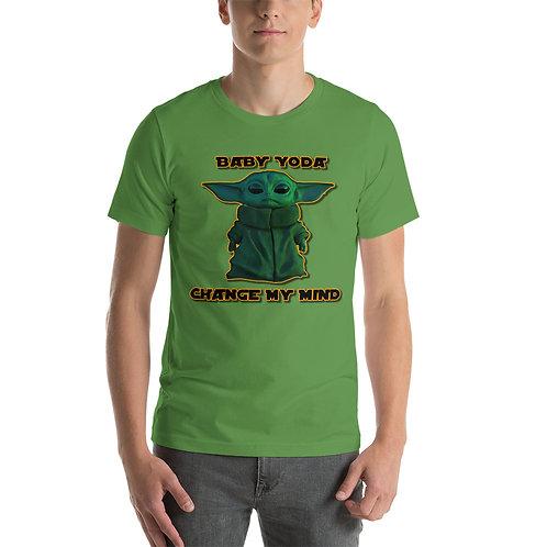 Baby Yoda Change My Mind - Short-Sleeve Unisex T-Shirt