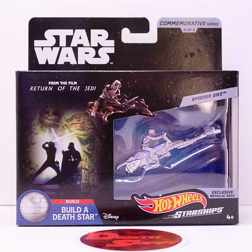 Speeder Bike - Star Wars Commemorative Starships - Hot Wheels (2019)