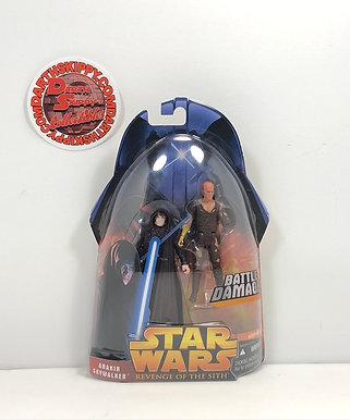 "Star Wars - Revenge of the Sith - Anakin Skywalker (Battle Damage) - 3.75"""