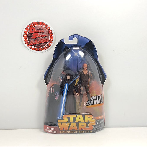 Star Wars - Revenge of the Sith - Anakin Skywalker (Battle Damage) - 3.75""