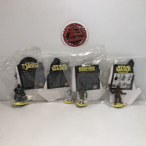 Pizza Hut Star Wars Trilogy - Set of 4 Figures (1995) Australian Exclusives