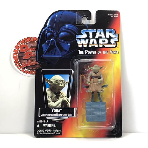 "Star Wars - POTF - Red Card - Yoda - 3.75"" Action Figure"