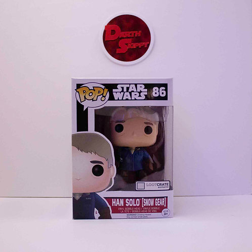 Funko Pop Star Wars Han Solo (Snow Gear) Loot Crate Exclusive #86