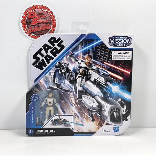 Star Wars - Mission Fleet - Obi Wan Kenobi with Barc Speeder