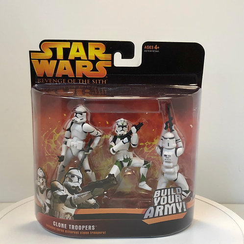 Star Wars - Revenge of the Sith - Clone Troopers - Build Your Army