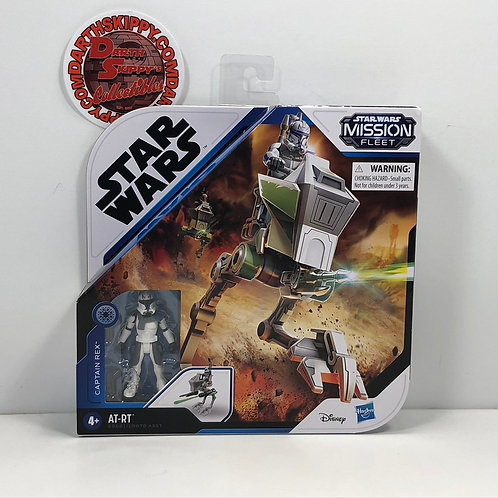 Star Wars - Mission Fleet - Captain Rex with AT - RT