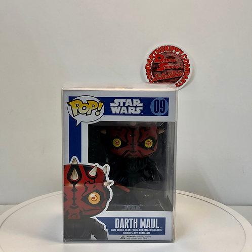 Star Wars Funko Pop - Darth Maul #09 With Protector