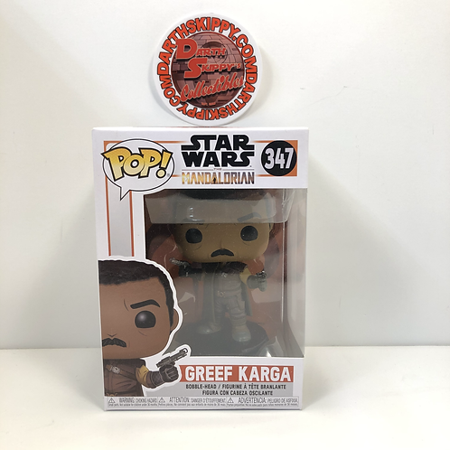 Funko Pop Star Wars #347 Greef Karga