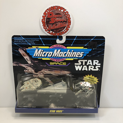 Micro Machine Space - Star Wars (A New Hope) - Falcon/Star Destroyer/X-Wing