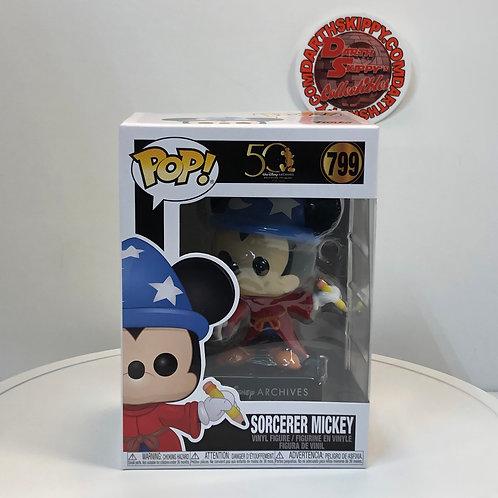 Funko - Walt Disney Archives - #799 Sorcerer Mickey 50th Anniversary