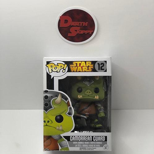 "Funko Pop! Star Wars #12 ""Gamorrean Guard"" Vinyl Bobble Head - Black Box Retired"