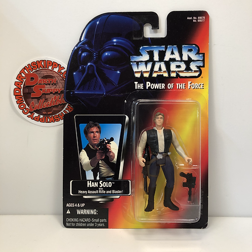 "Star Wars - POTF - Red Card - Han Solo - 3.75"" Action Figure"