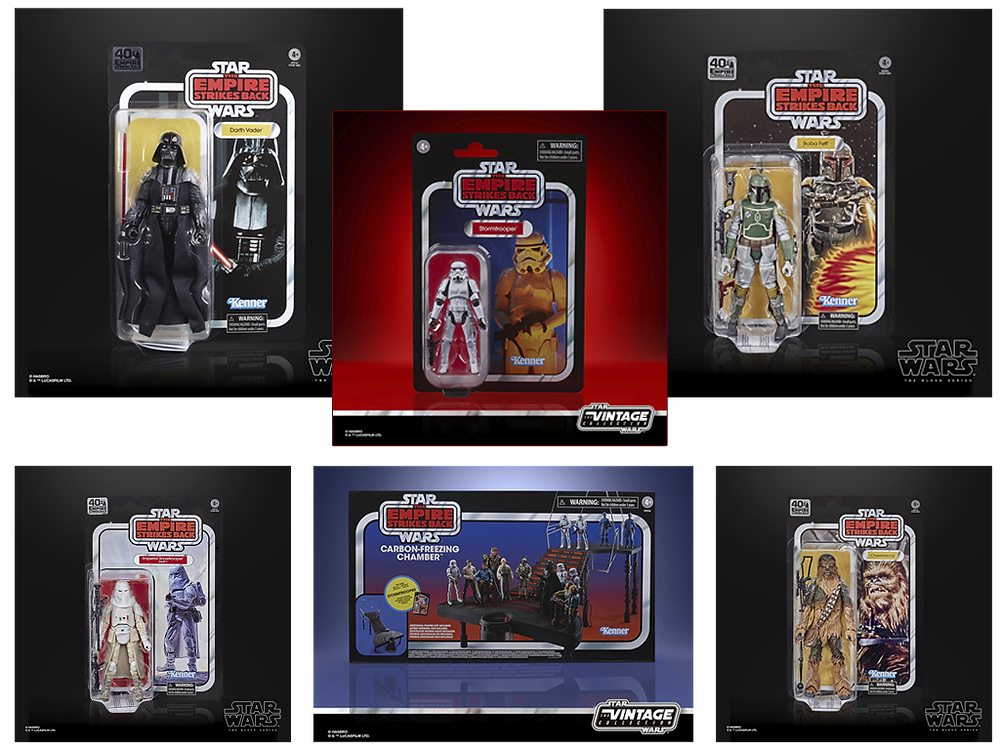 "A selection of really cool 6"" Star Wars Action Figures coming out this year 2020."
