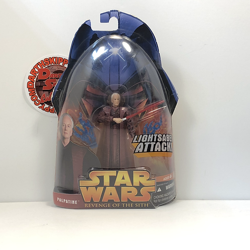 "Star Wars - Revenge of the Sith - Palpatine - 3.75"""