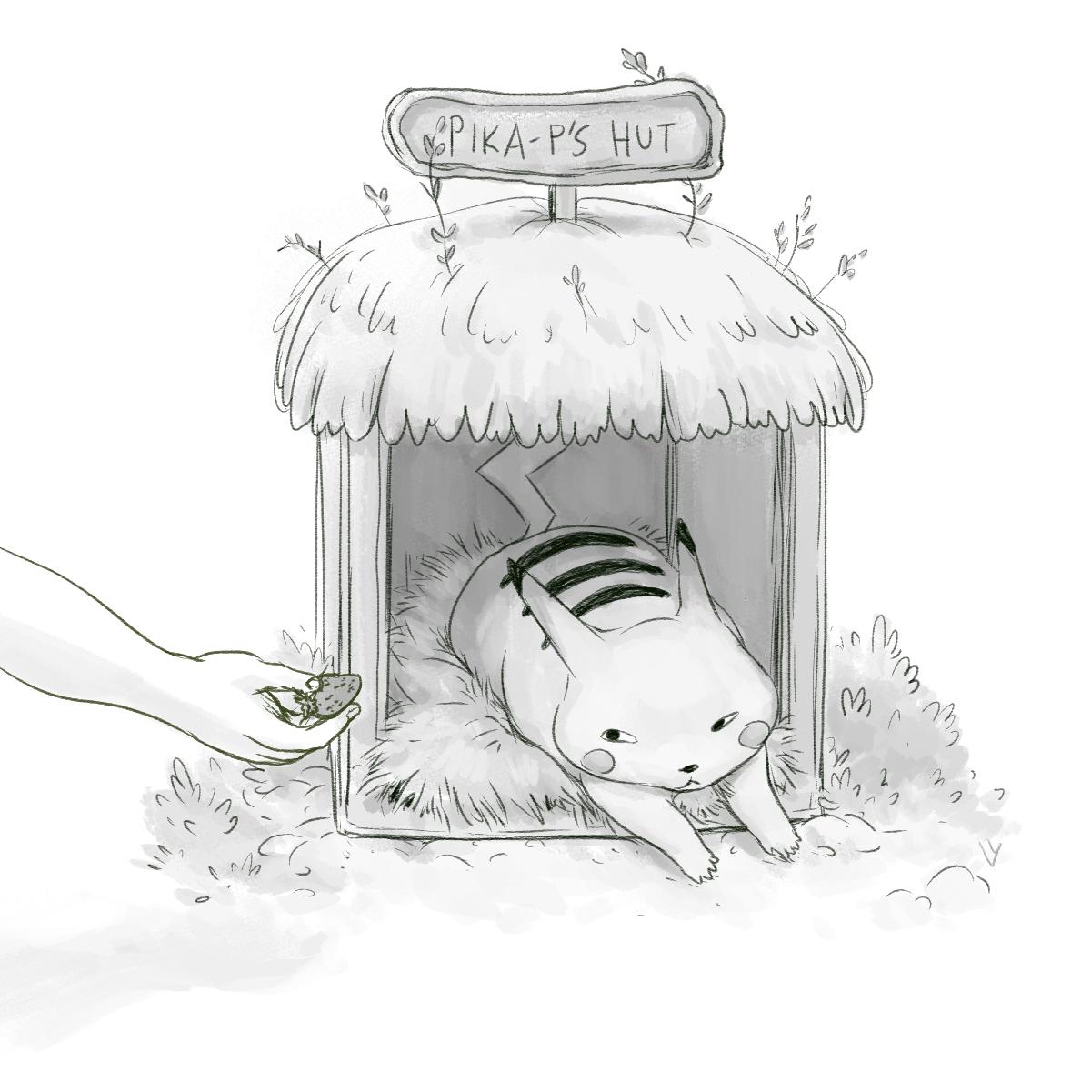 Pikachu's Hut