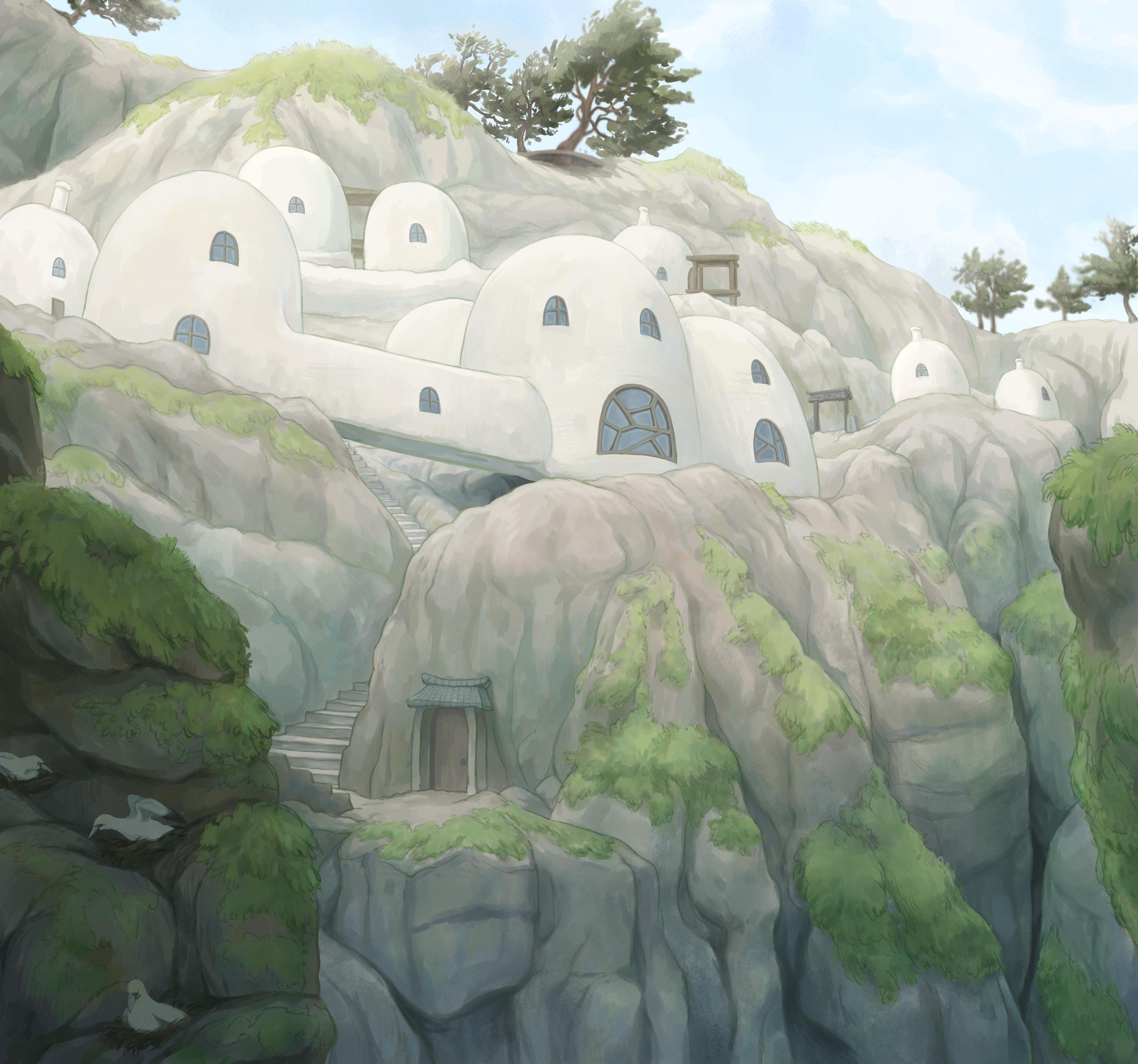 Bird Cliff Castle