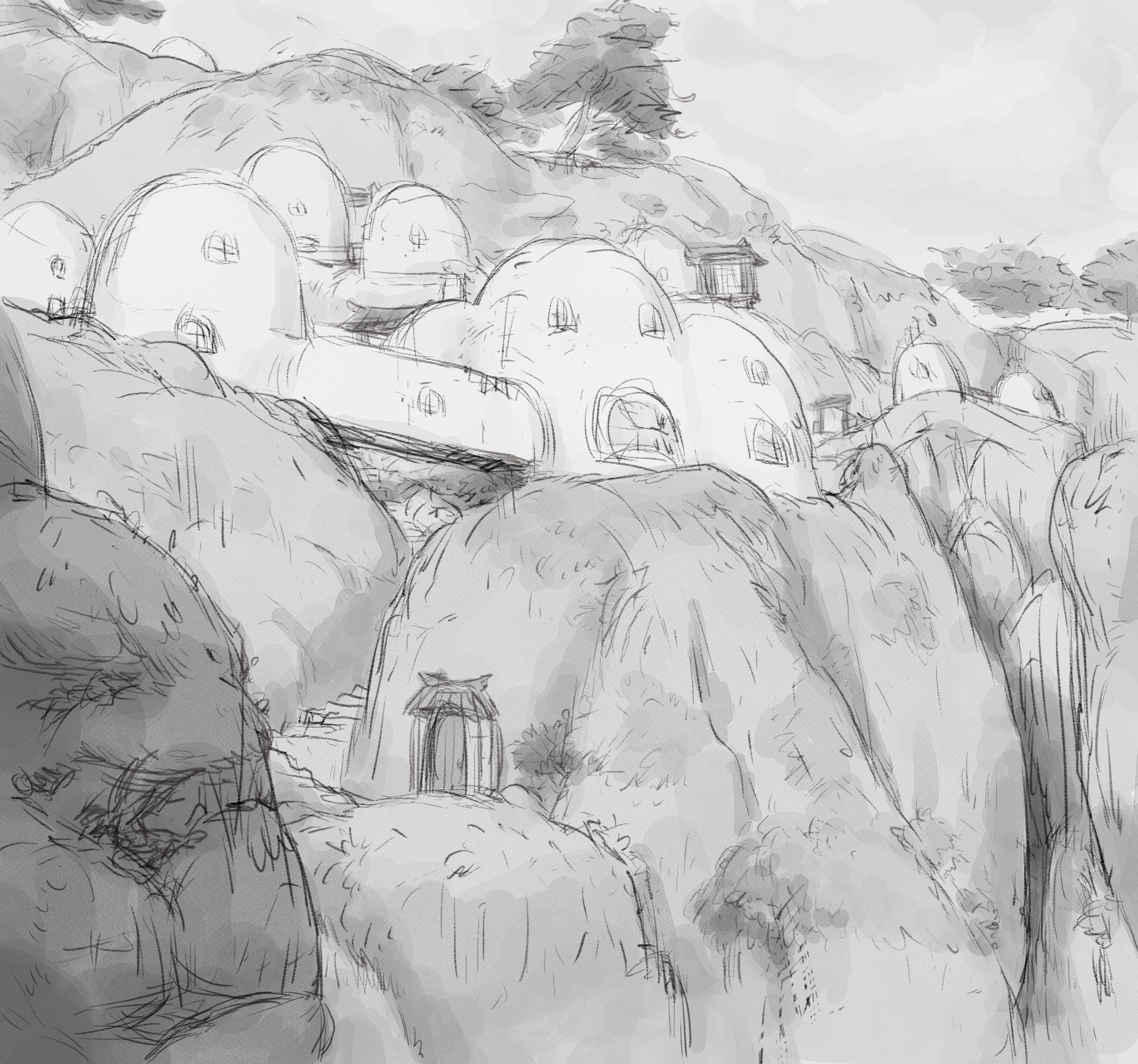 Bird Castle sketch