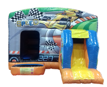 CARS CASTLE WITH SLIDE
