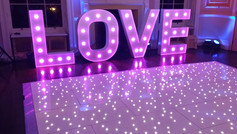GIANT LED LETTERS