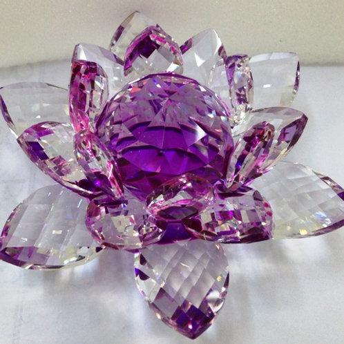 Kristall Lotosblumen