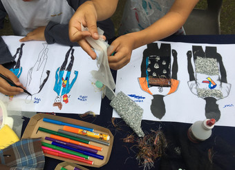 Kinderworkshop Mode design