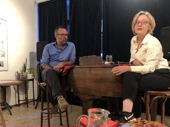 Artist Talk met Kamiel Verschuren en Anke Bangma
