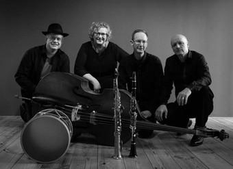 Het Zwarte Zee Kwartet op Tuinpodium