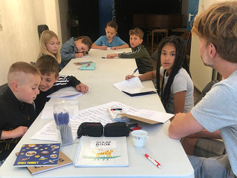Eerste bijeenkomst van Noordereiland Kinderkrant