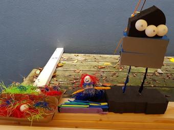 Kinderworkshop Bouwen met scrap