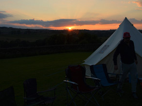 """Camping - """"here & there"""" Peak District"""