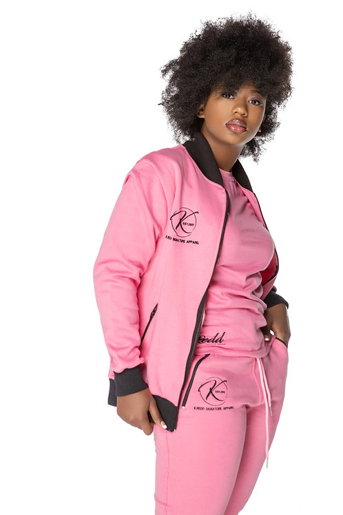 Ladies Varsity Jacket & Jogger Set