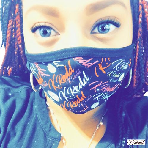 Unisex fashion K.Redd Mask